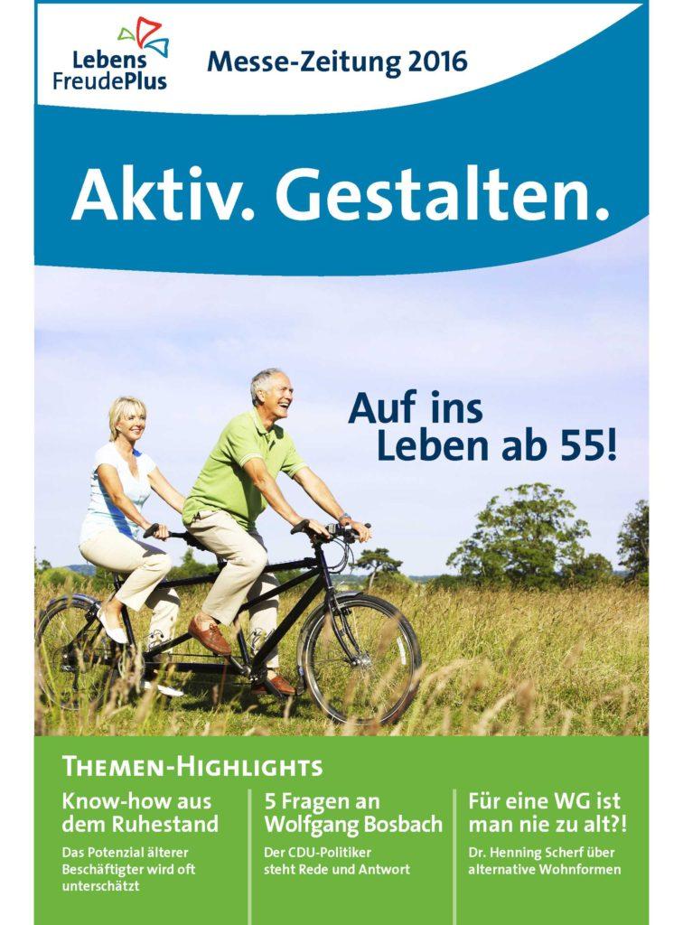 Messezeitung Aktiv Gestalten Cover