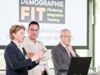 Die offizielle Eröffnung mit Elke Strothmann, Bernd Sassenhof und Dr. Hermann-Josef Tebroke (v. l.)