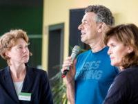 Elke Strothmann, Jürgen Hingsen und Ulrike Nasse-Meyfarth